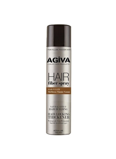 Agiva Agiva Her Saç Tipiiçin Dolgunlaştırıcı Fiber Saç Şekillendirici Spray 150 Ml Renksiz